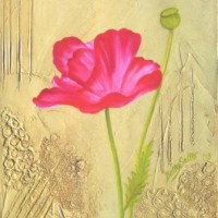 Poppy Pink Oils - For Sale $110