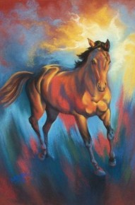 Powerful Spirit - See other spirited horses below.