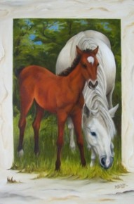 Quietly Grazing -For Sale $1.300