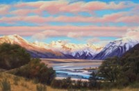 Sunrise From Bealey - For Sale - $1.000-